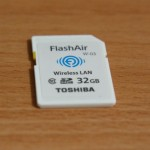 Toshiba FlashAir W-03 32G 與 CF 轉卡